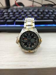 Relógio Citizen Combo Temp Js1045-58e *leia Descrição