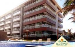 Apartamento com 2 dormitórios à venda, 57 m² - Porto das Dunas - Aquiraz/CE