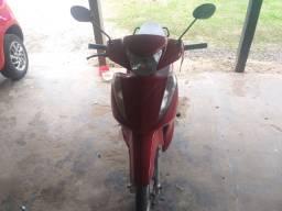 Biz 125 KS 2011 vermelha