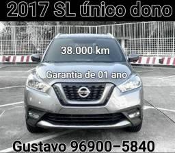 Nissan Kicks Sl 2017 Único dono Garantia de 1 ano