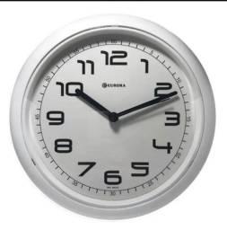 Relógio De Parede Promocional, Relogio Cozinha, Redondo Pret