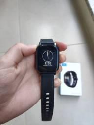Smartwatch xiaomi Haylou Ls02 global (usado poucos dias pois a pulseira me dá alergia)