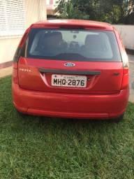 Ford/Fiesta Flex, 2011, R$ 18.500,00, vermelho, gas, 4 portas, trava, som