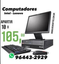 Computadores Intel - 10x R$ 105,00