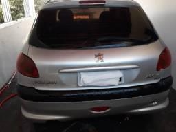 Peugeot 206 ano 2008 Flex