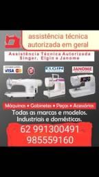 Assistência técnica autorizada em máquinas de costura industrial e doméstica ,