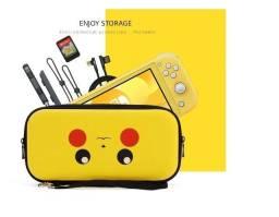 Case Nintendo Switch Lite Pokémon Pikachu + Película ou Zelda Switch Clássico