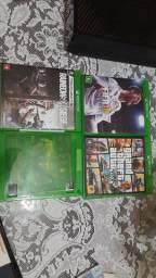Quatro jogos Xbox One, Vendo separadamente. Ler anúncio.