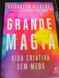 Livro Grande Magia - Vida criativa sem medo