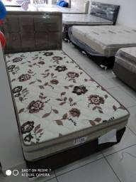 :: Promoçao Cama Box + Colchao Mega Resistent solteiro 88x188 confirav