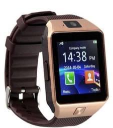 Smartwatch smart watch phone com câmera pega chip