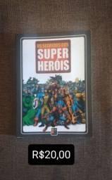 Livros Dos Segredos Dos Super Heróis.