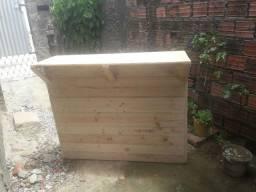 Vendo balcão de madeira novo pronta entrega Leia o anúncio