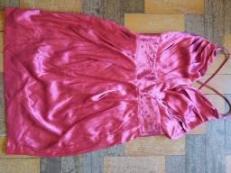 Título do anúncio: Vestido curto festa rosa