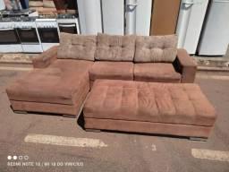 Título do anúncio: Sofa com puff ((ENTREGO GRÁTIS))