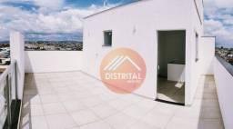 Cobertura com 3 dormitórios à venda, 136 m² por R$ 530.000,00 - Cabral - Contagem/MG