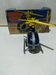 Vendo helicoptero duro na queda,anos 80.
