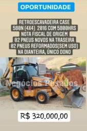 Título do anúncio: Retrô escavadeira da marca CASE