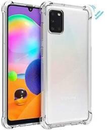 Capa Transparente Anti Impacto Samsung Galaxy A31 Bordas Reforçadas