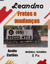Título do anúncio: Fretes e mudanças Cuiabá e viagens