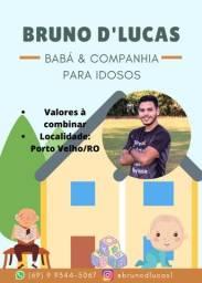 Título do anúncio: Babá de crianças ou Companhia para Idosos