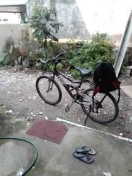 Vendo bicicleta Caloi com suspensão