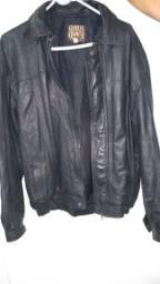 Jaqueta de couro Natural