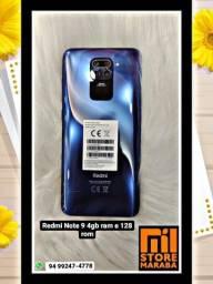Redmi Note 9 4gb ram e 128Gb rom