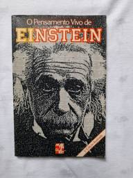 Livro O Pensamento Vivo de Einstein
