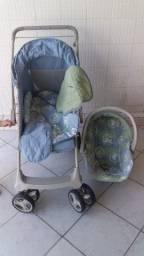 Vendo Carrinho e Bebe Conforto Galzerano 780,00