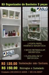 Título do anúncio: Kit Organizador de Banheiro