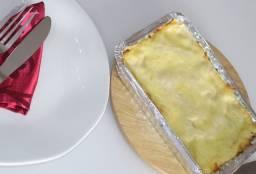 Deliciosa Lasanha Artesanal Congelada de Presunto e Queijo