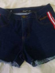 Short jeans 15 reais