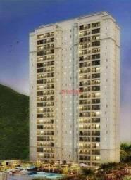 Título do anúncio: Apartamento com 3 dormitórios à venda, 84 m² por R$ 549.900,00 - Marapé - Santos/SP