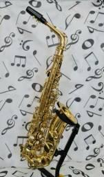 Sax Alto Quasar revisado com excelente sonoridade