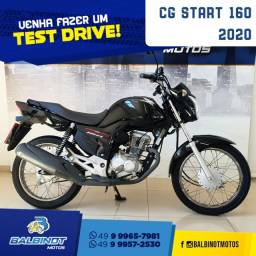 Título do anúncio: CG Start 160 2020 Preta