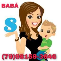 Título do anúncio: Baba disponível todos os horários