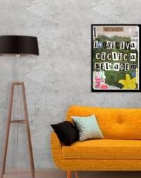 Quadro Decorativo- Collage Digital