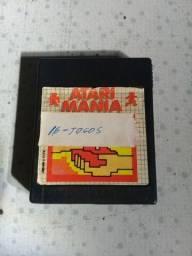Cartucho com 16 jogos do Atari