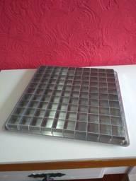 Forma Quadrada para Pão de Mel - 100 cavidades
