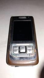 Nokia E65 celular antigo flip deslizante peças