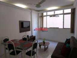 Título do anúncio: Apartamento com 1 dormitório à venda, 55 m² por R$ 330.000,00 - Embaré - Santos/SP