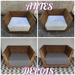 Sofás, poltronas, cadeiras (reformas)
