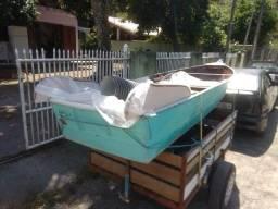 Título do anúncio: Barco de alumínio  medindo 3,20 m top