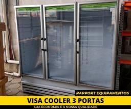 Expositor De Frios - Visa Cooler 3 Portas