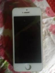 Vendo iphone 5s valor de 500,00 reias
