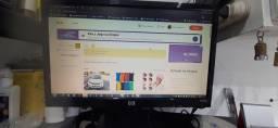 Monitor HP 18,5 polegadas  R$180,00