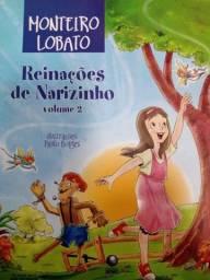 Livro: Reinações de Narizinho, vol. 2