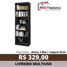 Título do anúncio: Estante Multiuso Livreiro Decorativo Verona 3 Cores - Entrega Grátis