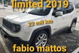 JEEP RENEGADE LIMITED 22 MIL KM 2019 MITSUBISHI RAION FALAR COM FABIO MATTOS